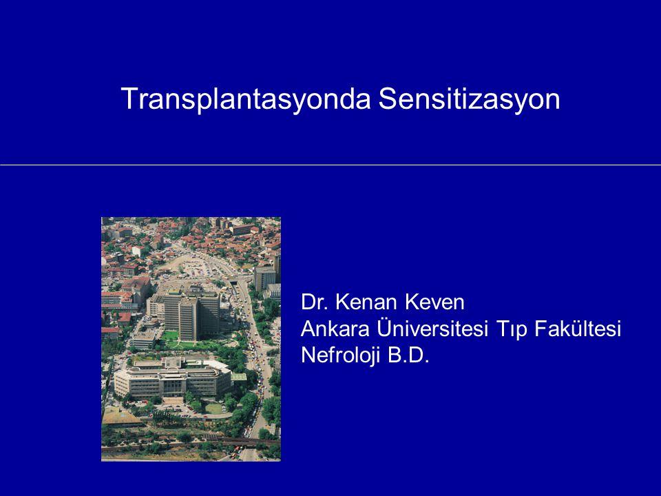 Transplantasyonda Sensitizasyon