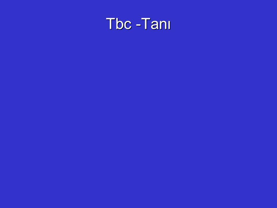 Tbc -Tanı