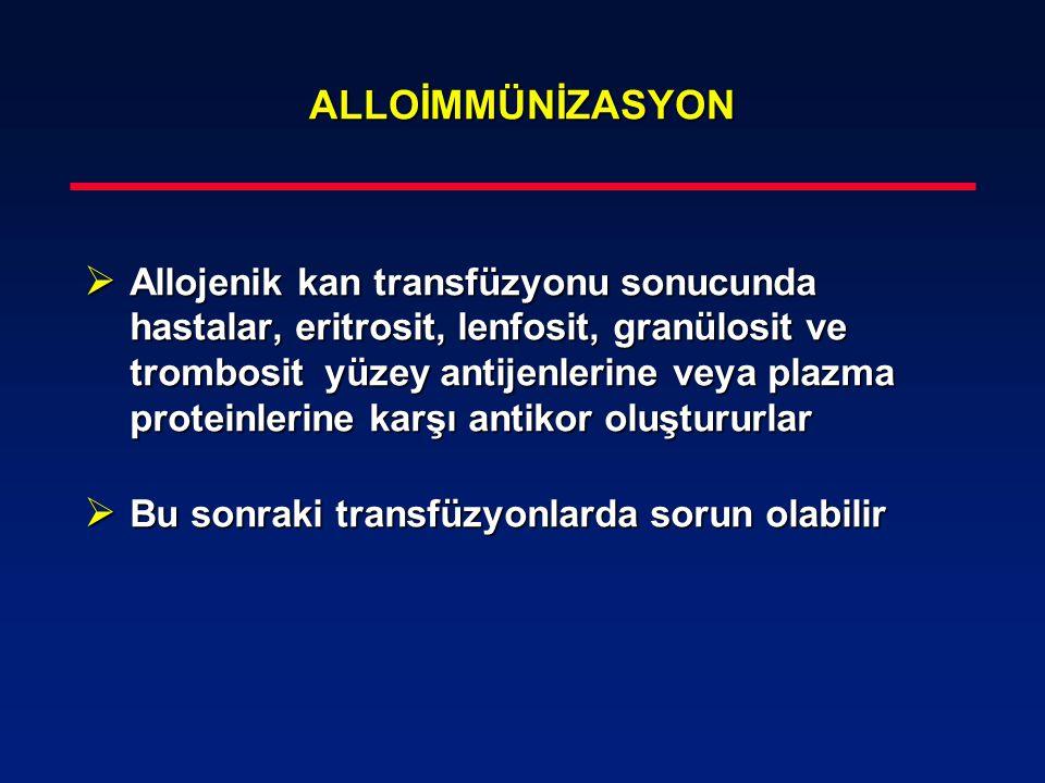 ALLOİMMÜNİZASYON