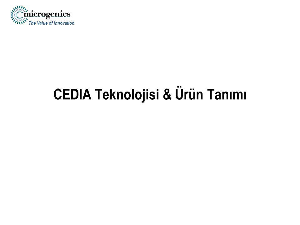 CEDIA Teknolojisi & Ürün Tanımı