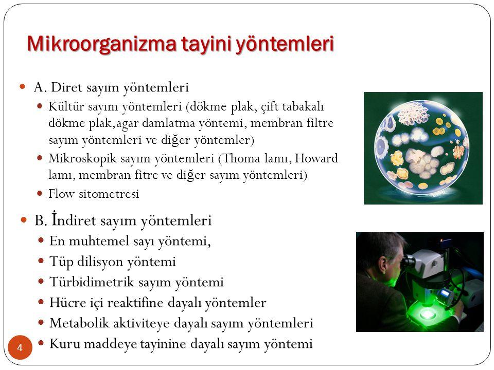 Mikroorganizma tayini yöntemleri