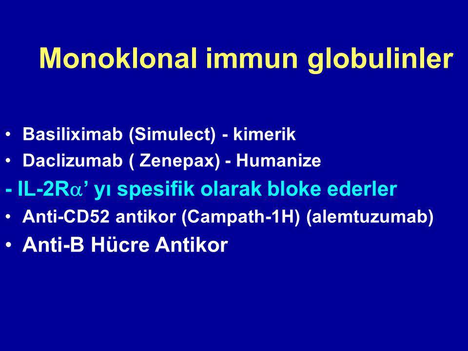 Monoklonal immun globulinler