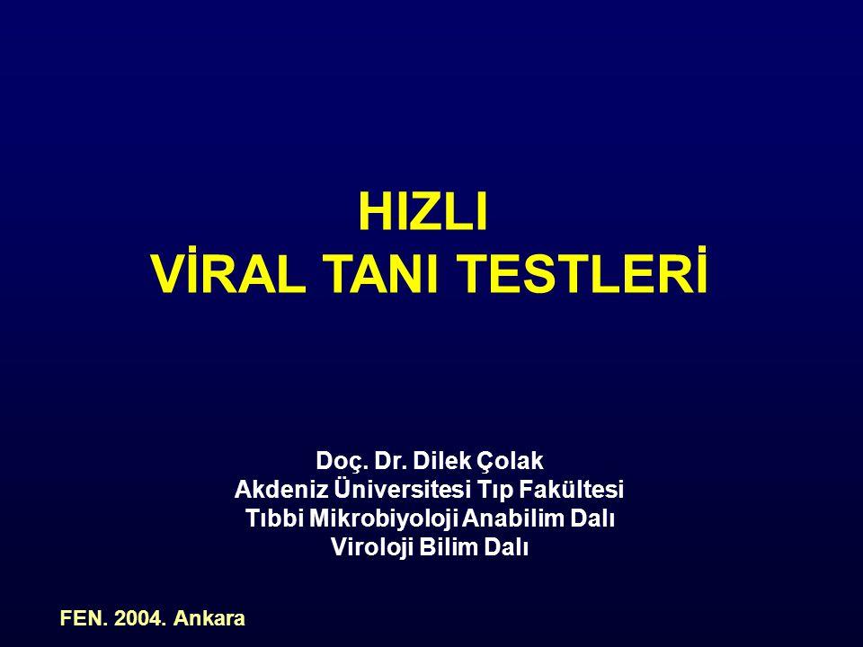 Akdeniz Üniversitesi Tıp Fakültesi Tıbbi Mikrobiyoloji Anabilim Dalı
