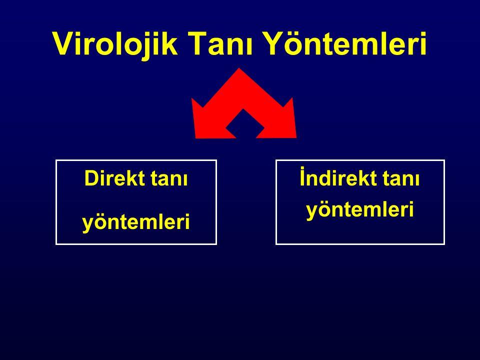 Virolojik Tanı Yöntemleri