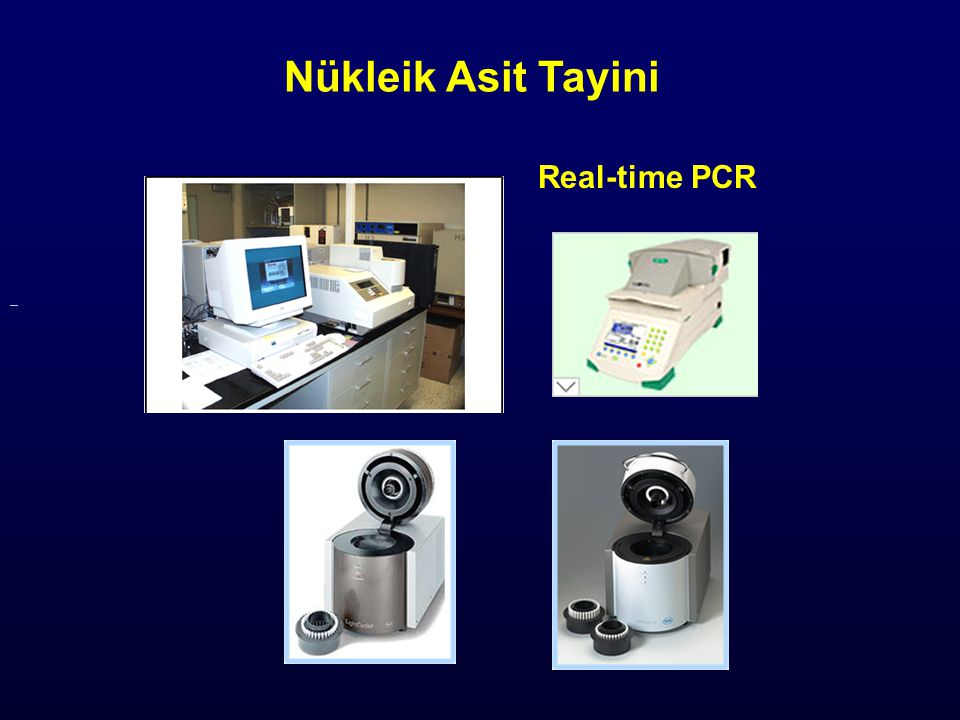 Nükleik Asit Tayini Real-time PCR