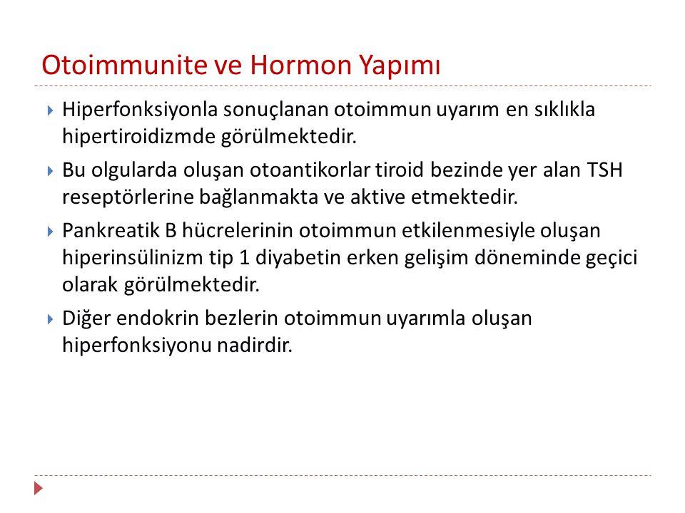 Otoimmunite ve Hormon Yapımı
