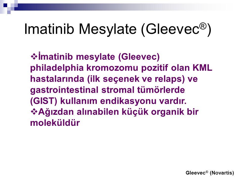 Imatinib Mesylate (Gleevec®)