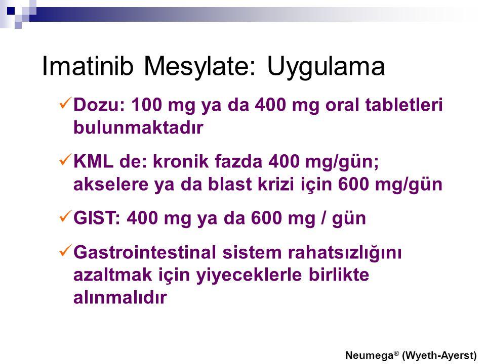 Imatinib Mesylate: Uygulama