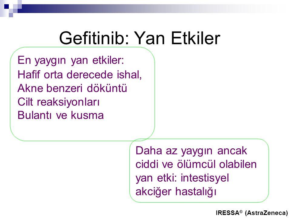 Gefitinib: Yan Etkiler
