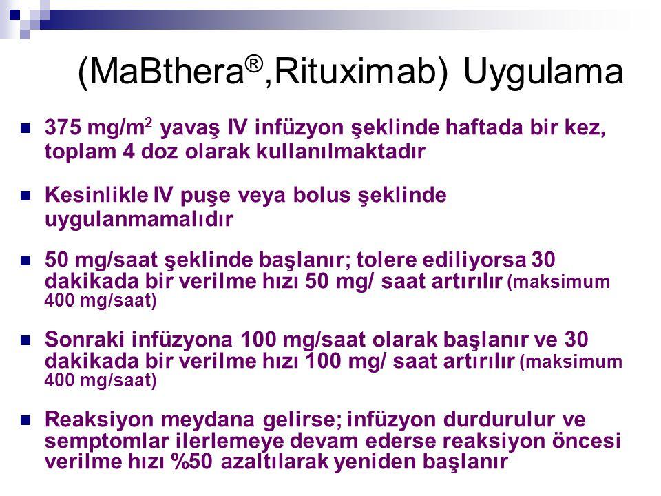 (MaBthera®,Rituximab) Uygulama