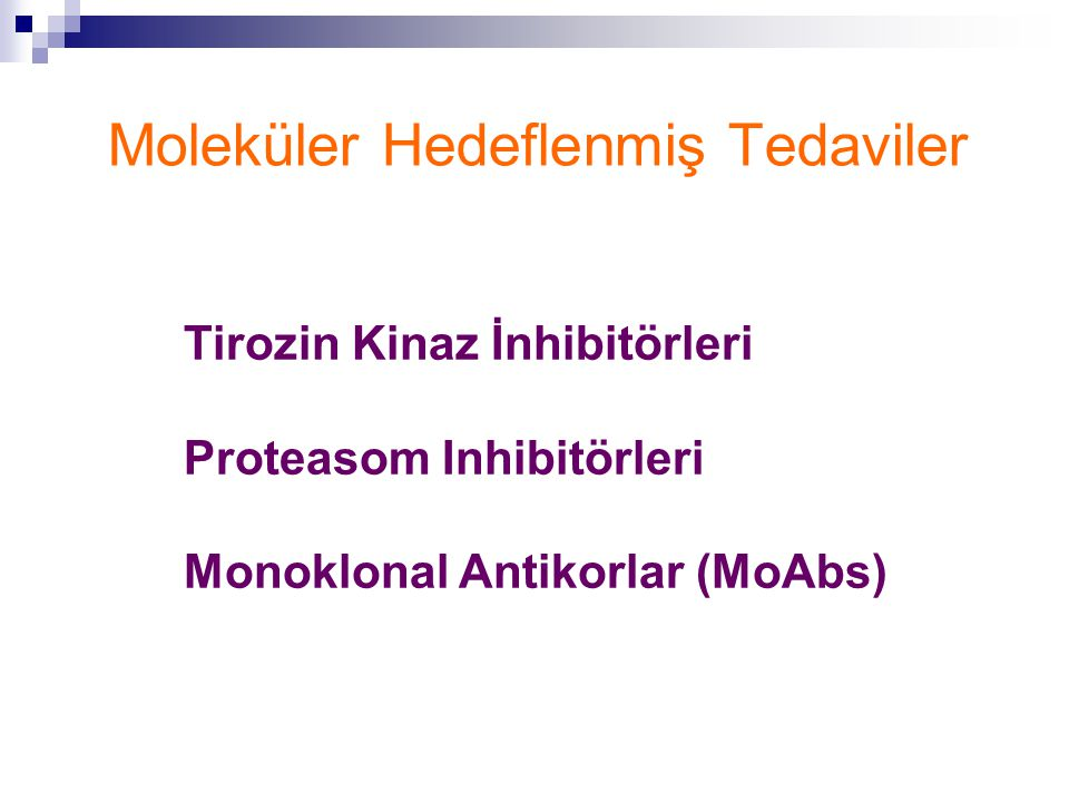 Moleküler Hedeflenmiş Tedaviler