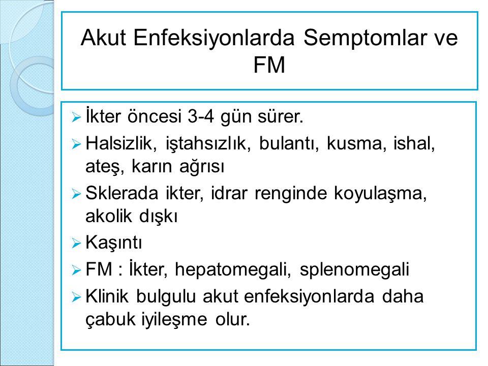 Akut Enfeksiyonlarda Semptomlar ve FM