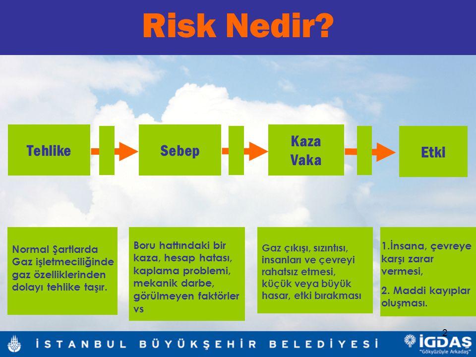 Risk Nedir Tehlike Sebep Kaza Vaka Etki