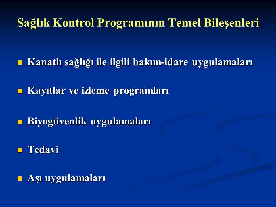 Sağlık Kontrol Programının Temel Bileşenleri