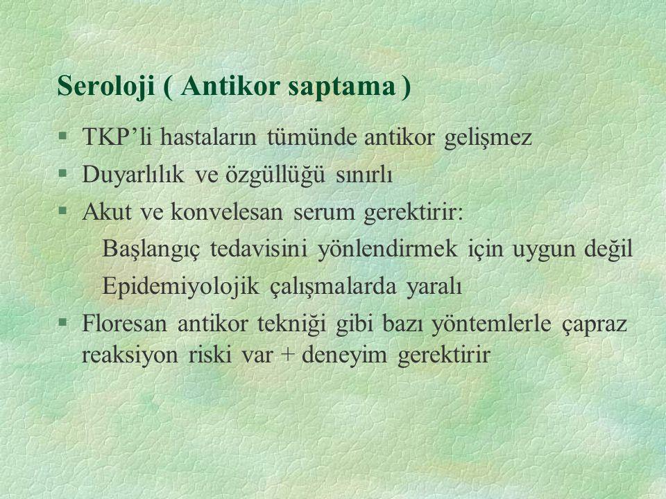 Seroloji ( Antikor saptama )