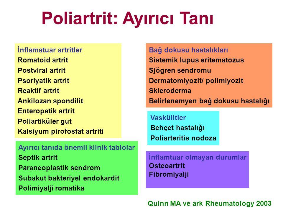 Poliartrit: Ayırıcı Tanı