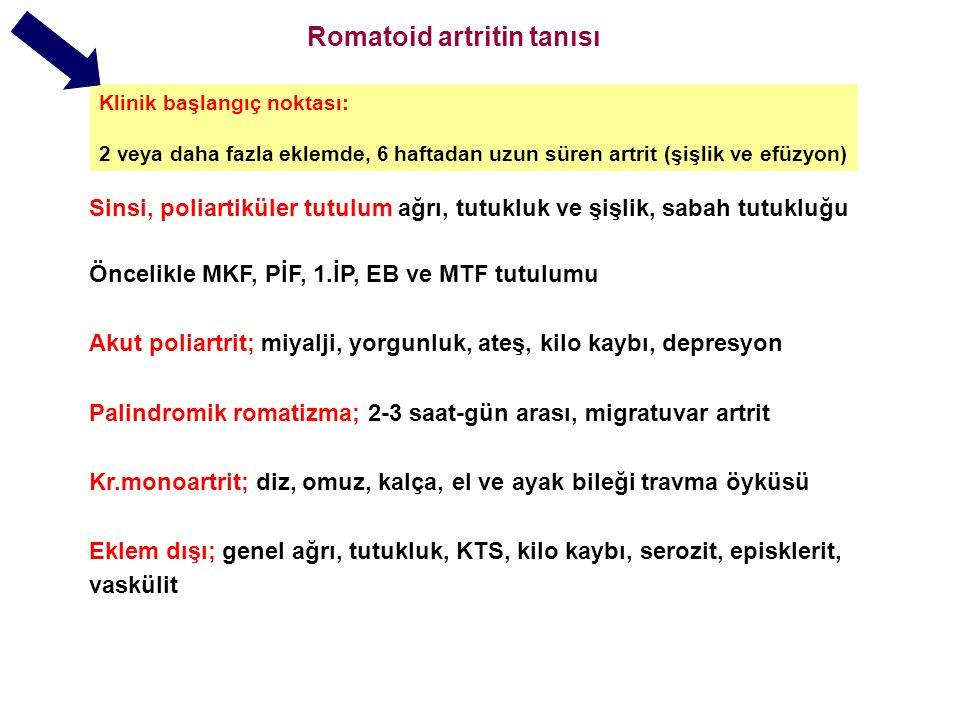 Romatoid artritin tanısı