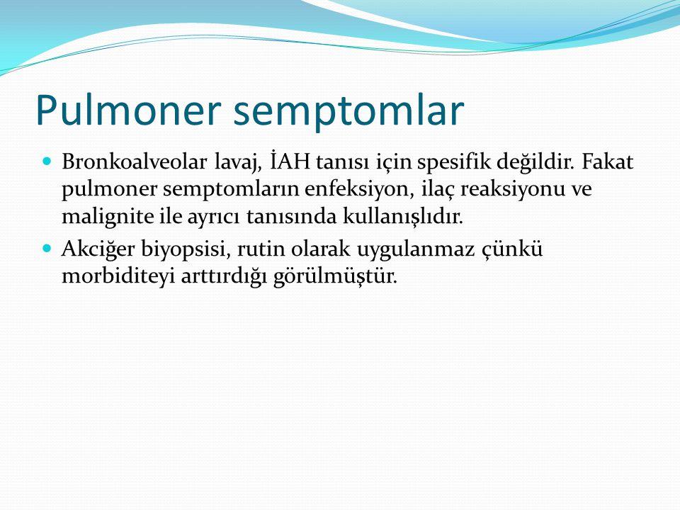 Pulmoner semptomlar