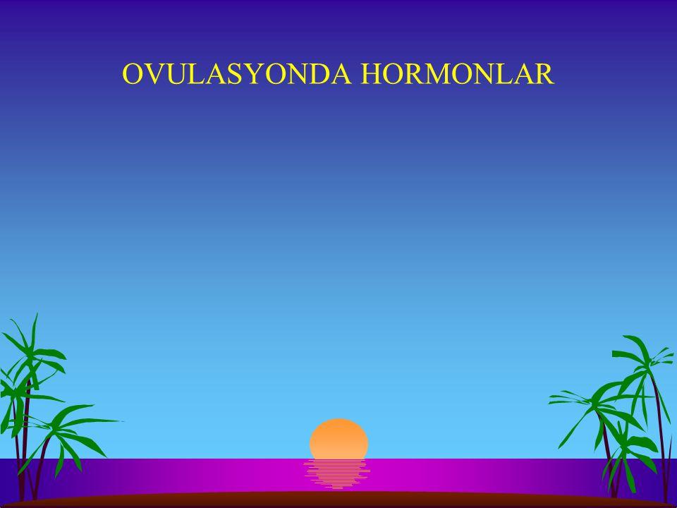 OVULASYONDA HORMONLAR