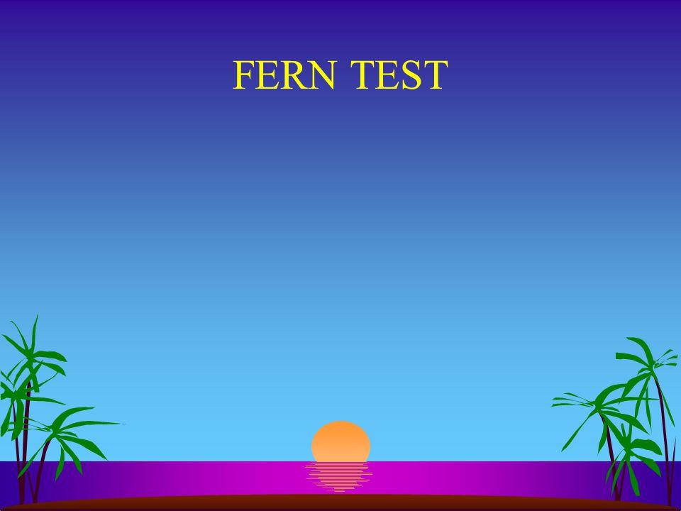 FERN TEST