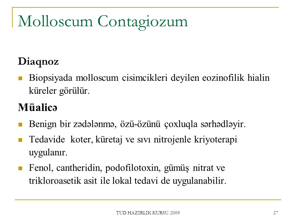 Molloscum Contagiozum