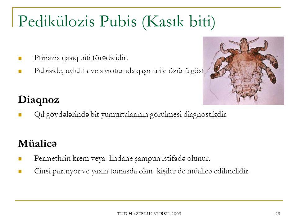 Pedikülozis Pubis (Kasık biti)