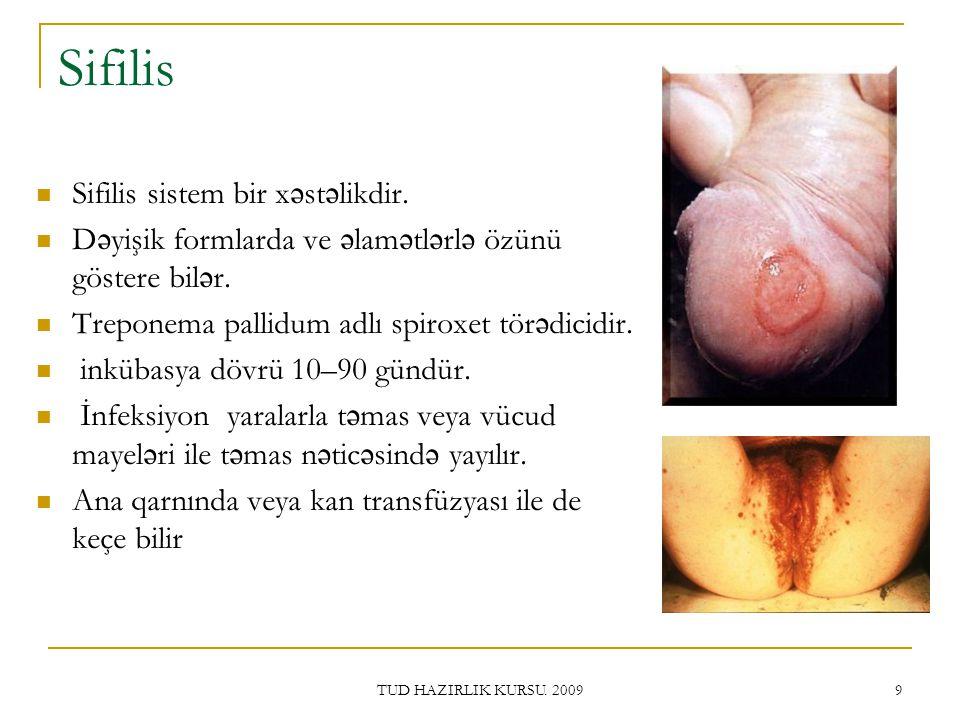 Sifilis Sifilis sistem bir xəstəlikdir.