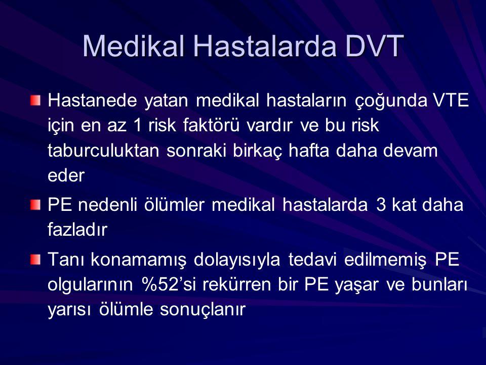 Medikal Hastalarda DVT