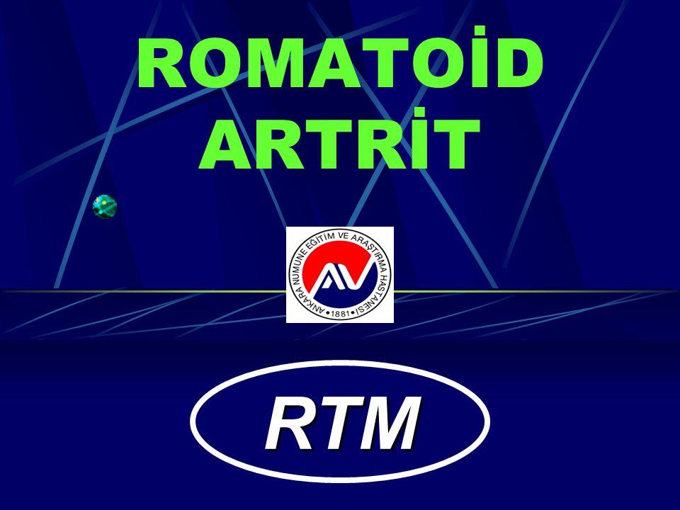 ROMATOİD ARTRİT RTM