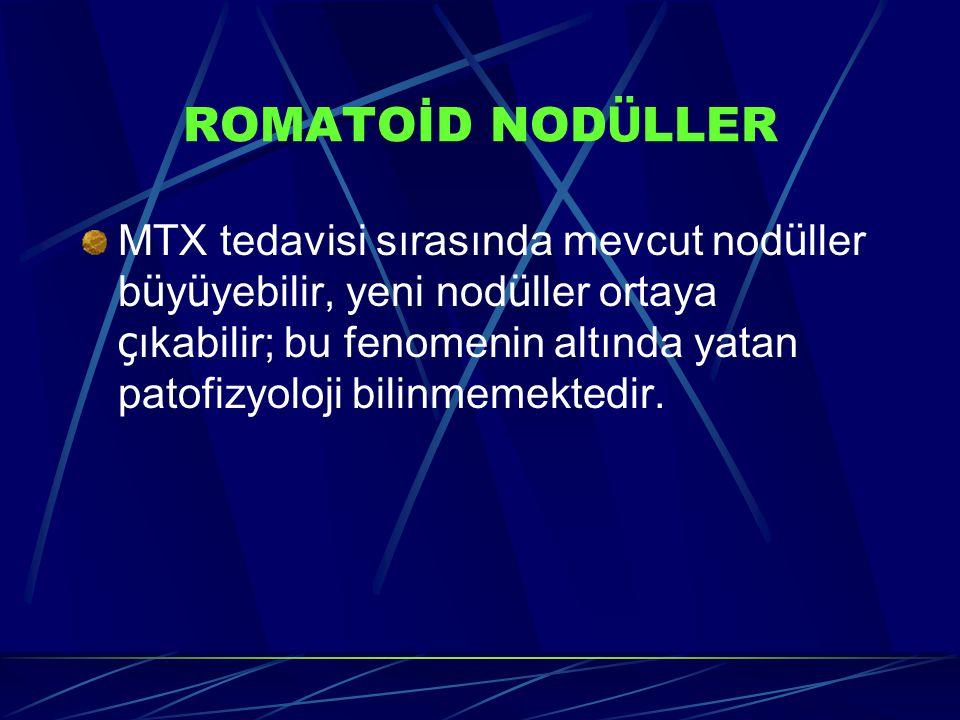 ROMATOİD NODÜLLER