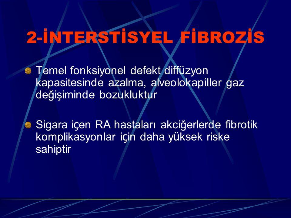 2-İNTERSTİSYEL FİBROZİS