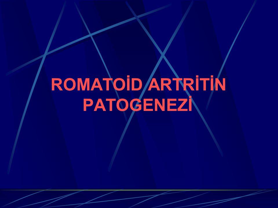 ROMATOİD ARTRİTİN PATOGENEZİ