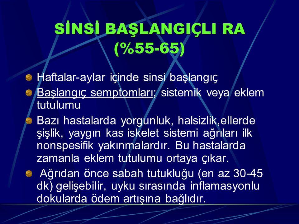 SİNSİ BAŞLANGIÇLI RA (%55-65)