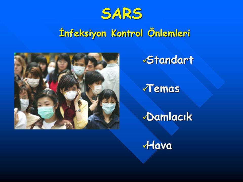 SARS İnfeksiyon Kontrol Önlemleri