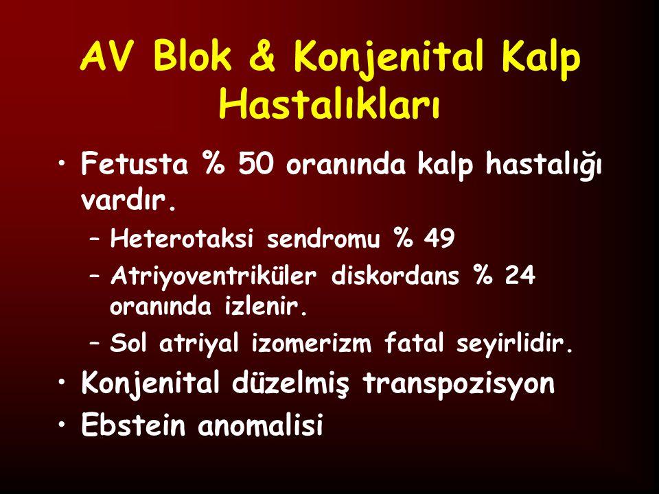 AV Blok & Konjenital Kalp Hastalıkları
