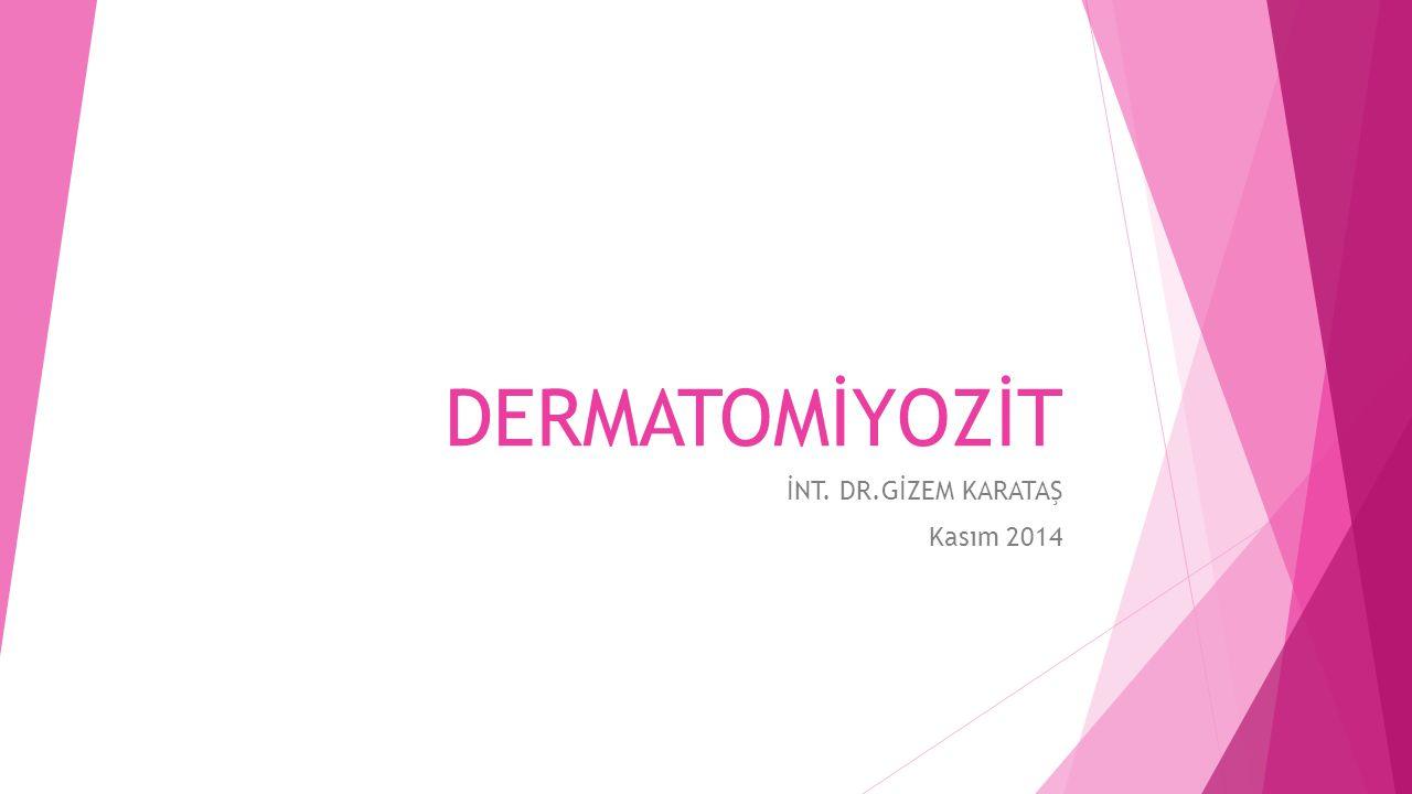 İNT. DR.GİZEM KARATAŞ Kasım 2014