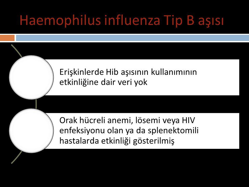 Haemophilus influenza Tip B aşısı