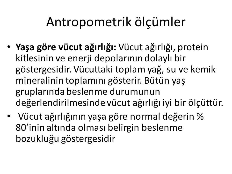 Antropometrik ölçümler