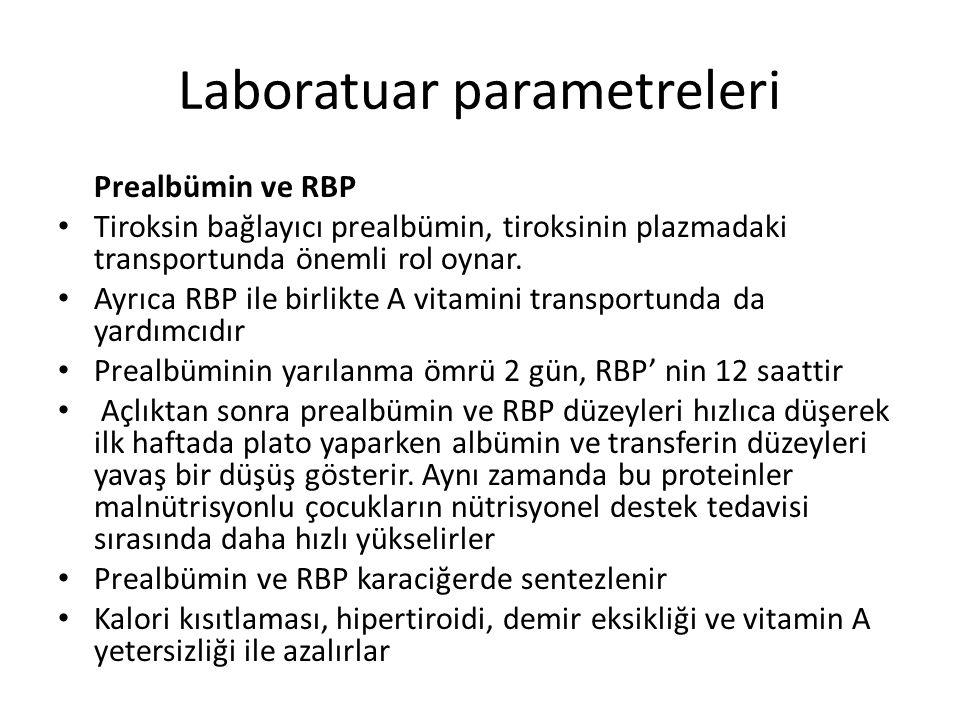 Laboratuar parametreleri