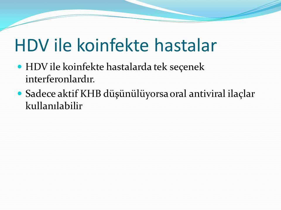 HDV ile koinfekte hastalar