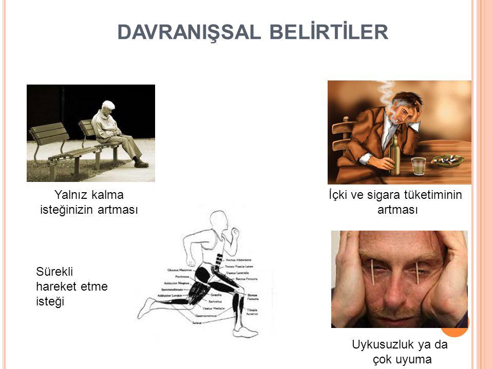 DAVRANIŞSAL BELİRTİLER