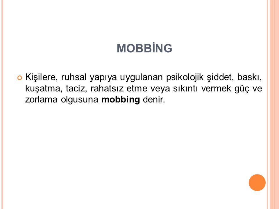 MOBBİNG