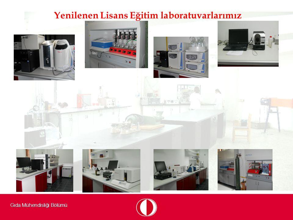 Yenilenen Lisans Eğitim laboratuvarlarımız