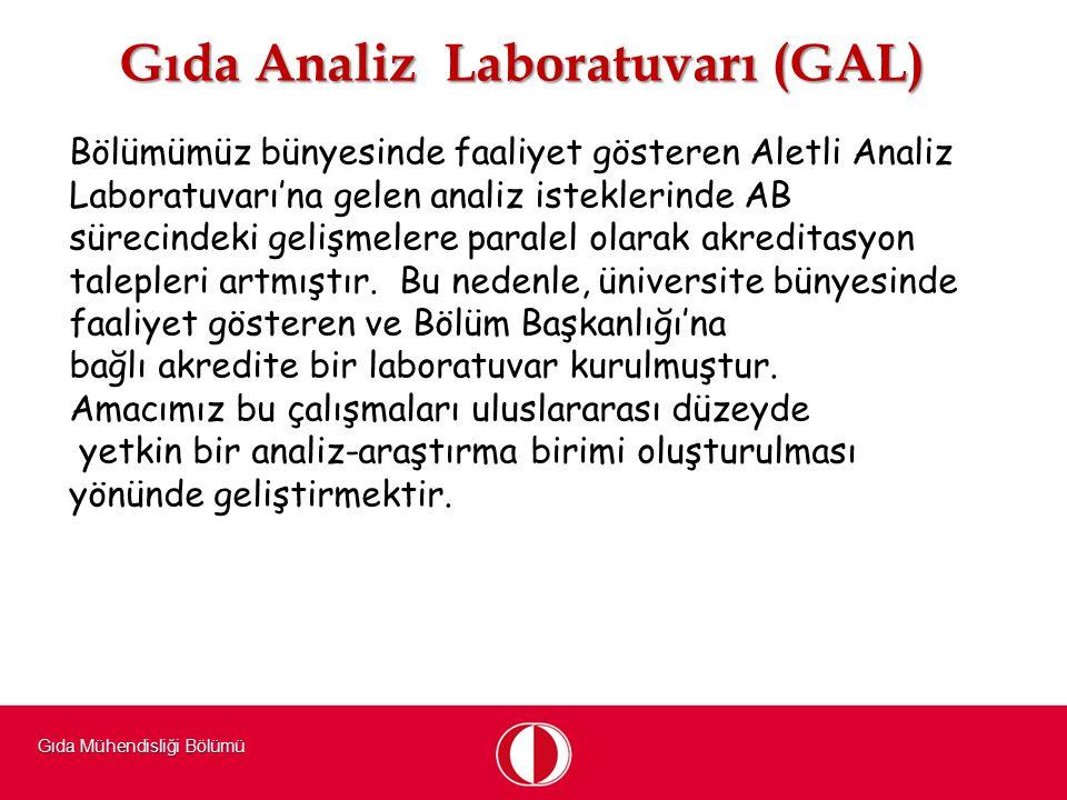 Gıda Analiz Laboratuvarı (GAL)