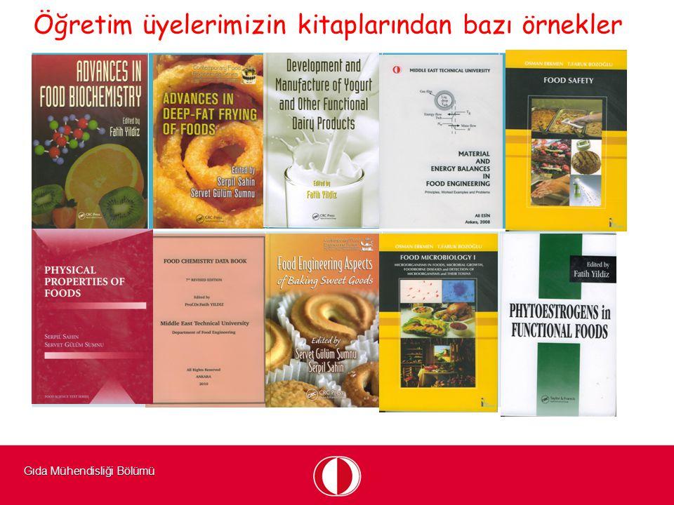 Öğretim üyelerimizin kitaplarından bazı örnekler