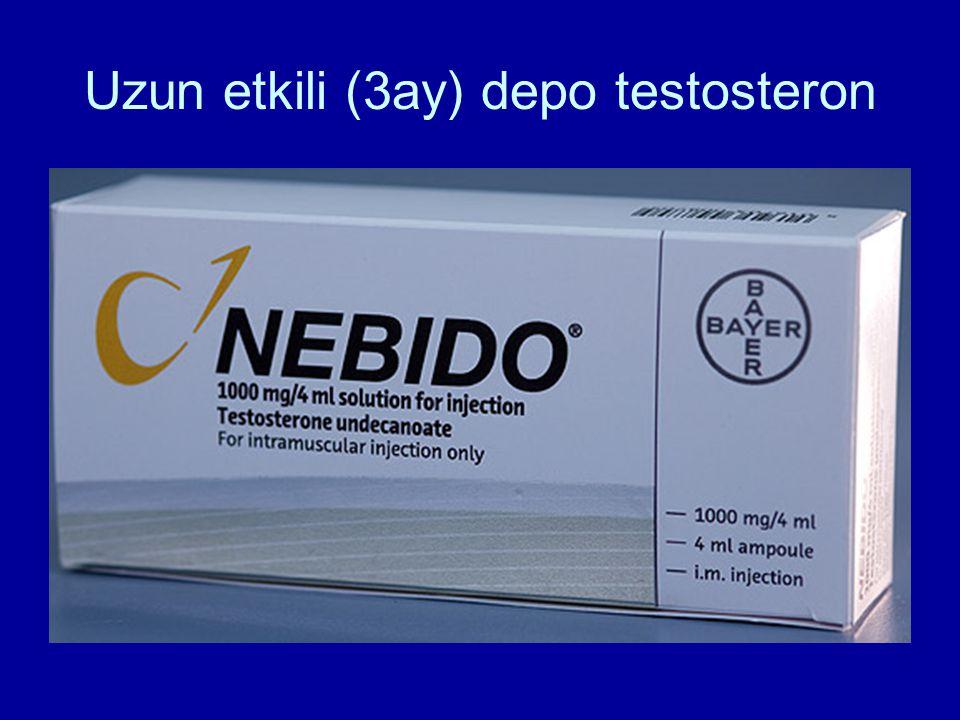 Uzun etkili (3ay) depo testosteron