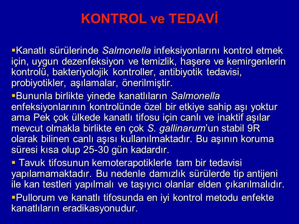 KONTROL ve TEDAVİ