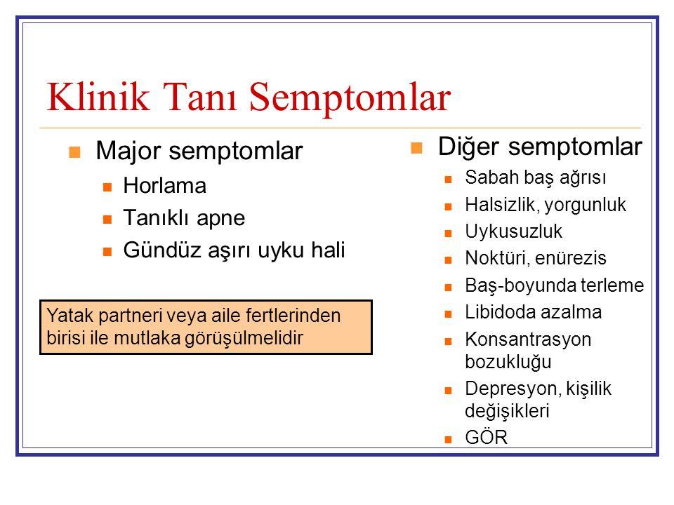 Klinik Tanı Semptomlar