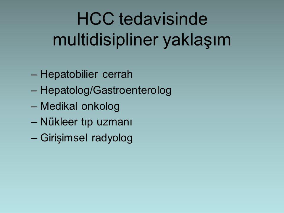 HCC tedavisinde multidisipliner yaklaşım