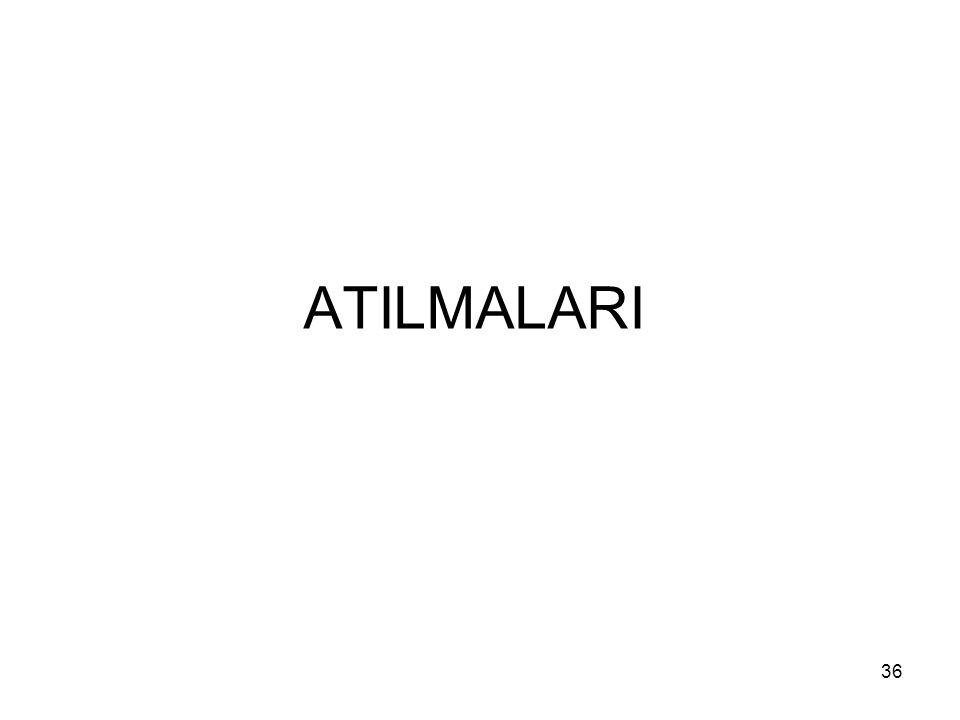 ATILMALARI